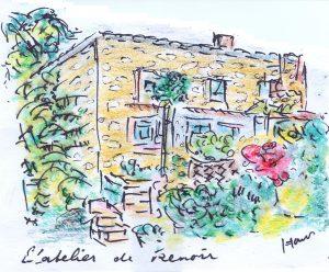 atelier van Renoir
