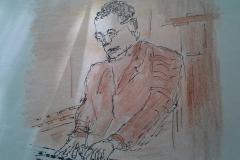 Ruud-25-jaar-organist-Hans-Strootman