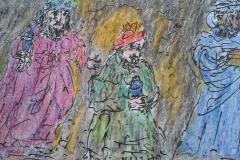 Three Kings (detail)